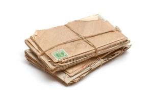 paquet de lettres